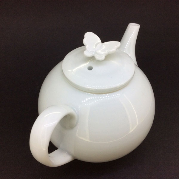 Item #2567: Butterfly Teapot